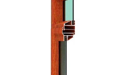 Door frame aluminum profiles